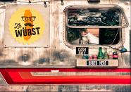 Ze Wurst Food Truck Logo