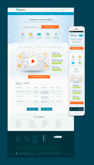 Freelancer homepage design 3