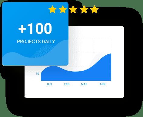 자신의 프로젝트 관련 업데이트 사항을 자신의 메일 수신함에서 바로 확인할 수 있습니다.
