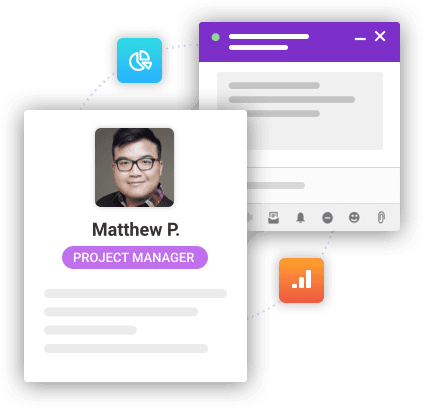 Project Manager Illustration