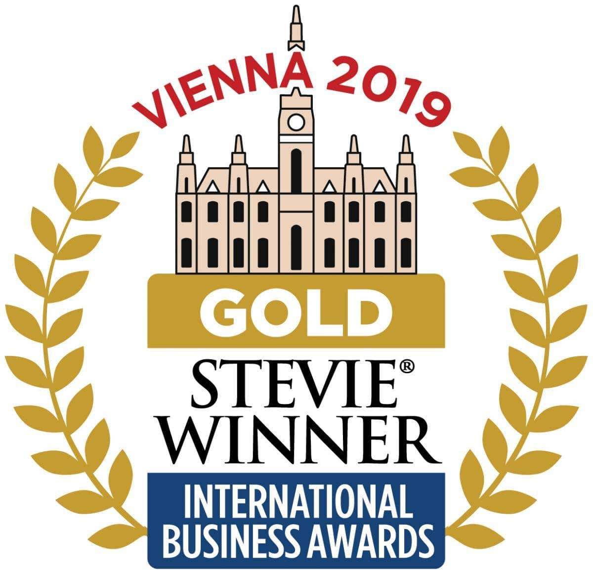 Logo de Gold Stevie 2019