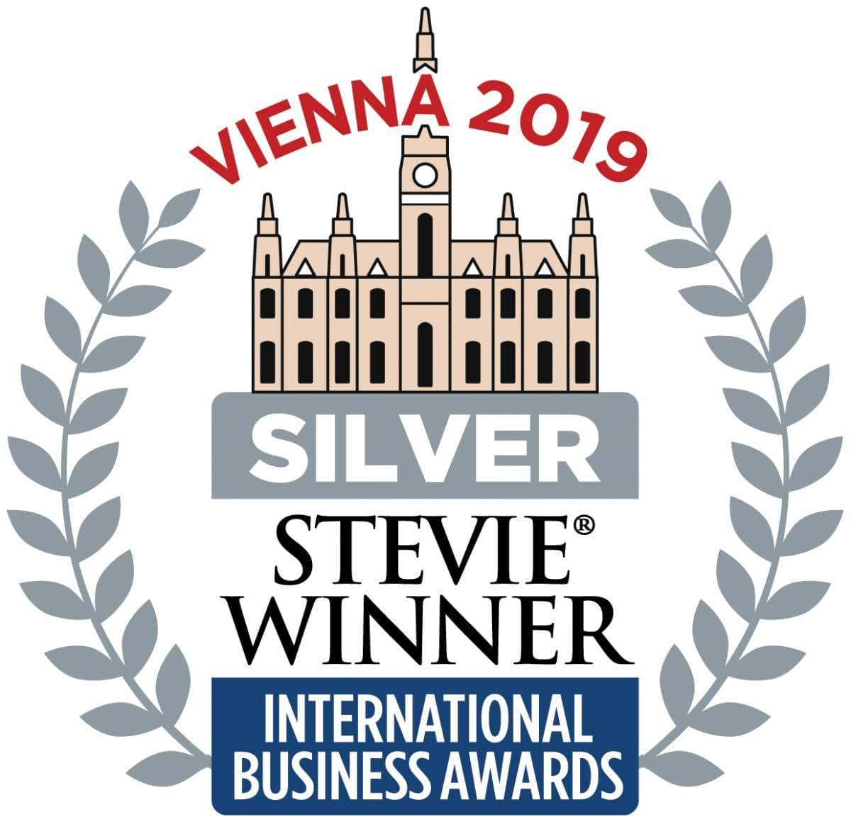 Logotip Silver Stevie 2019