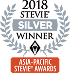 Silver Stevie Asia Pacific 2018 -logo
