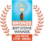 Logo de Bronze Stevie 2019