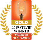 Logotipo Stevie de Ouro de 2019