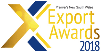 Premier's NSW Export Award 2018