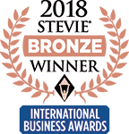 Logotipo Stevie de Bronze 2018