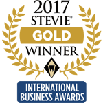 Logotipo Stevie de Ouro de 2017
