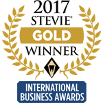 Gold Stevie 2017 -logo