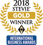 Gold Stevie 2018 -logo