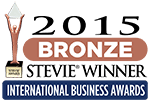 2015年 Bronze Stevie Award