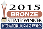 Bronze Stevie Award 2015