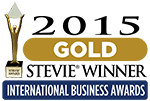 Gold Stevie Award - 2015