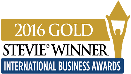 Logo dobitnika nagrade Gold Stevie 2016