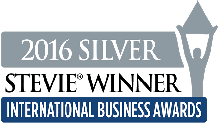 Silver Stevie Winner 2016 -logo