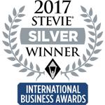 Silver Stevie 2017 logotyp