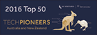 Logo Top 50 Tech Pioneers 2016