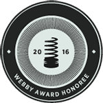 Logo Webby Official Honoree Best Practices 2016