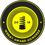 Honouree - 22nd Annual Webby Awards 2018
