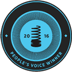 Logo for Webbys People Voice 2016