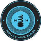 Λογότυπο Webbys People Voice 2016