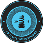 ロゴ Webbys People Voice 2016