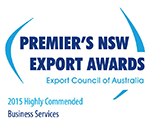 Βραβεία Logo Premier's NSW Export