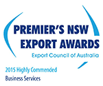 Logo de Premier's NSW Export Awards