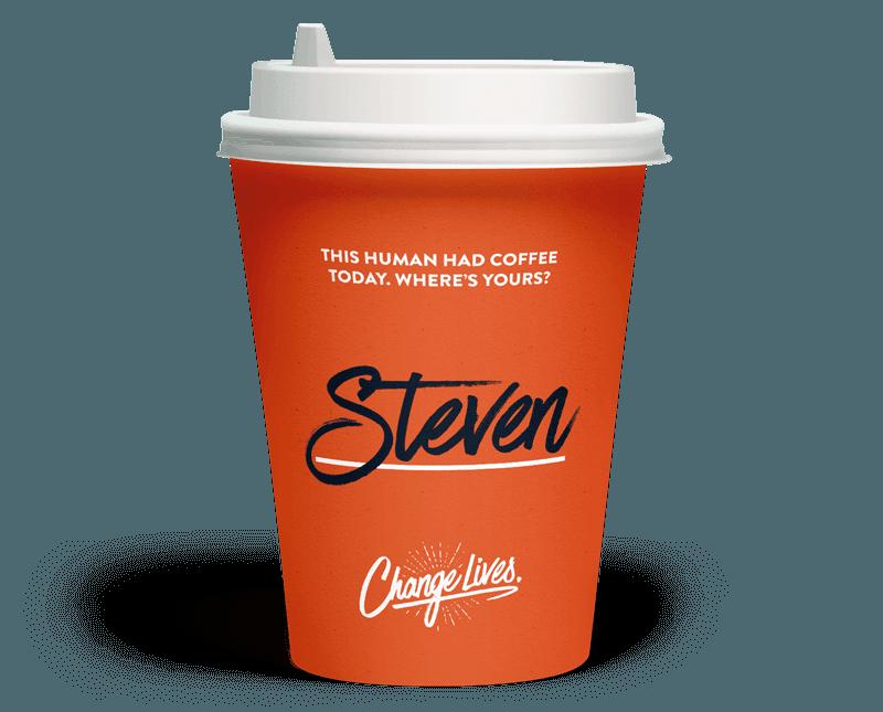 Ilustración de una taza de café.