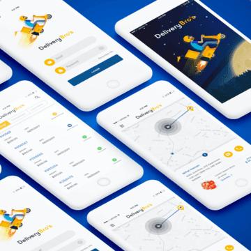 Design an App Mockup Picture