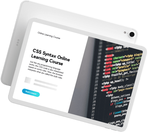 CSS content writing for online tutorial website Picture