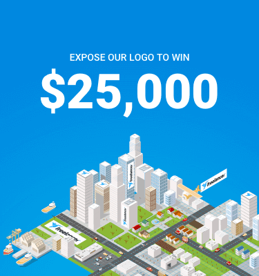 Exhibe tu logo para ganar $25,000