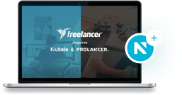 Imagen de Nubelo y Prolancer adquiridos por Freelancer.