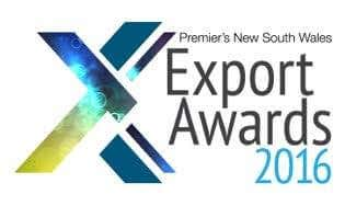 Logo Premier's NSW Export Awards 2016